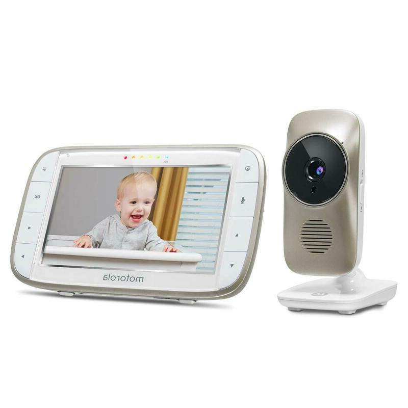 Motorola Mbp845Connect Baby Monitor With Viewing, Zoom,