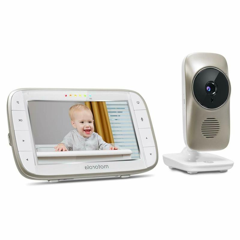 Motorola Mbp845Connect Baby Wi-Fi Viewing, Zoom, T