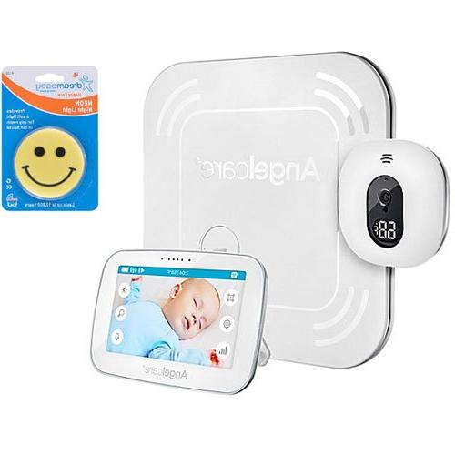 """5"""" Angelcare Baby Movement Monitor with Touchscreen Display Wireless Sensor Pad"""