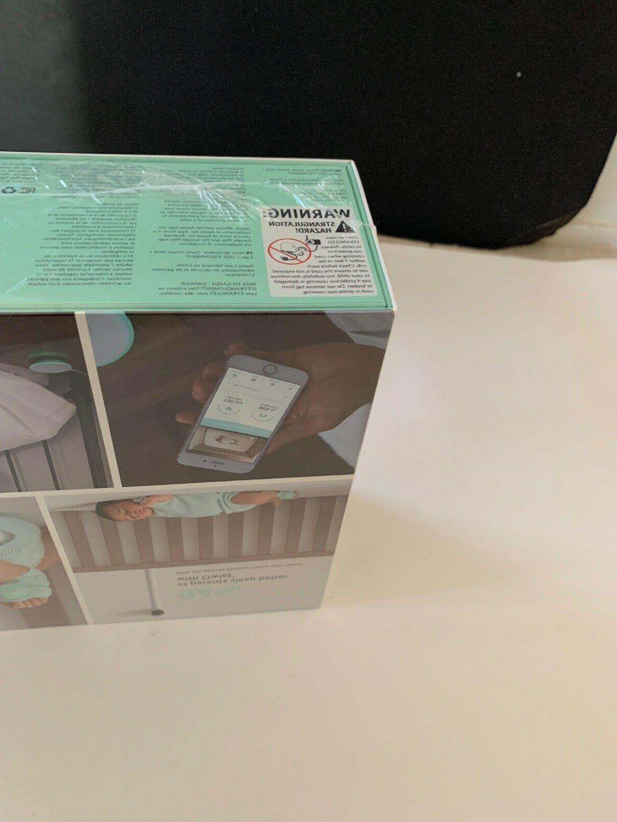 Smart Sock+ Cam Complete Baby Monitor System 1080P