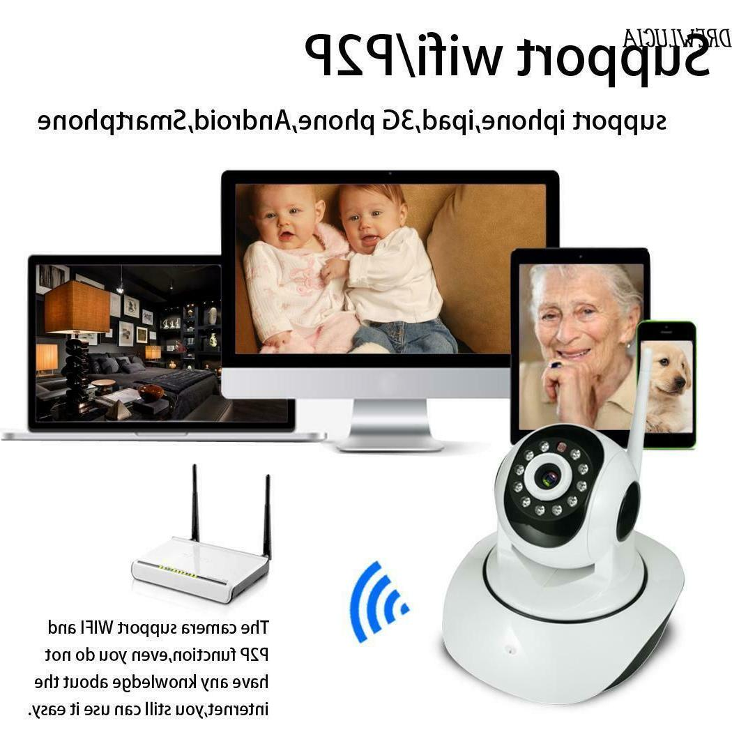 Pet Baby Monitor HD 720P WIFI Camera Home IP Camera 2 Way Au
