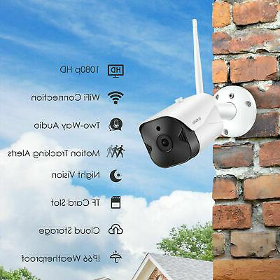 ZOSI Wireless WIFI IP Camera Security Bullet Vision