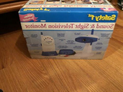 Safety 1st Sound Sight Television Baby New In
