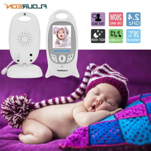 Wireless Baby Monitor LCD Security Camera Display Two Way Te