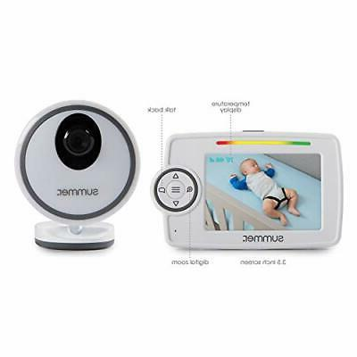 Summer Plus Baby Monitor with 3.5-inch Color LCD –