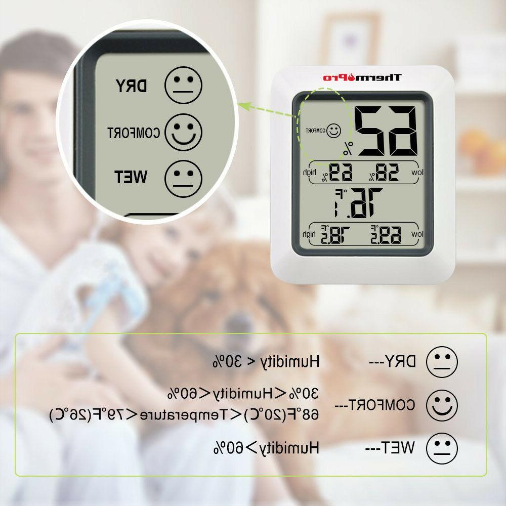 ThermoPro Digital Indoor Thermometer Monitor With Gauge