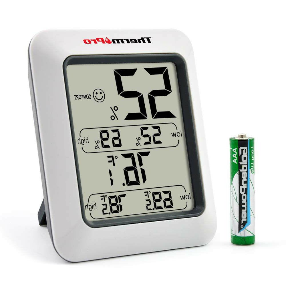 ThermoPro TP50 Digital Indoor With Gauge