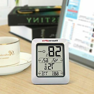 TP50 Digital Hygrometer Indoor Thermometer Gauge