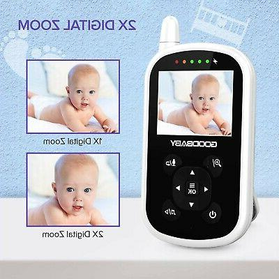 Video Baby Camera and Audio Auto Night Vision,Two-Way TemP