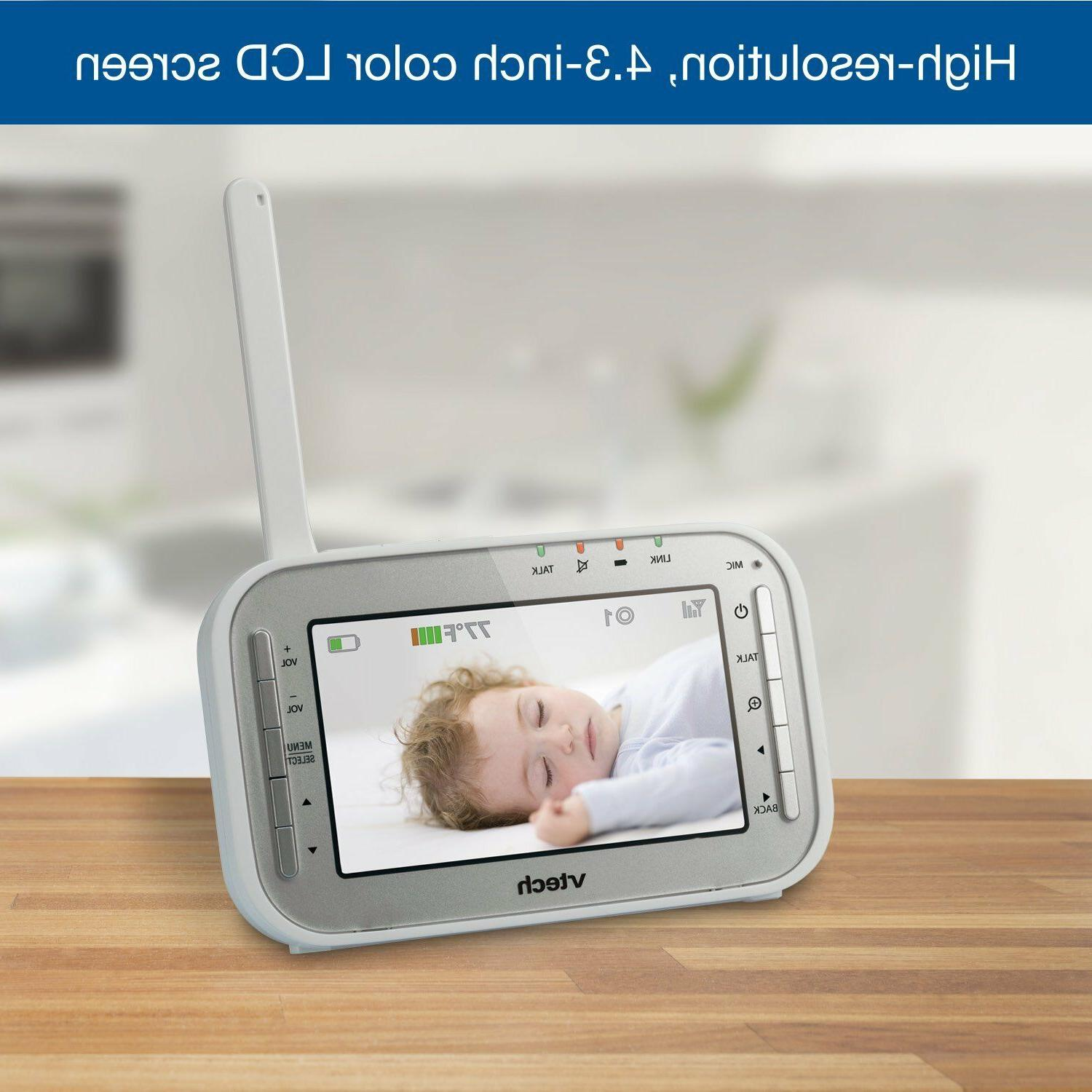 VTech Baby Monitor with 170-Degree Wide-Angle Lens Cameras