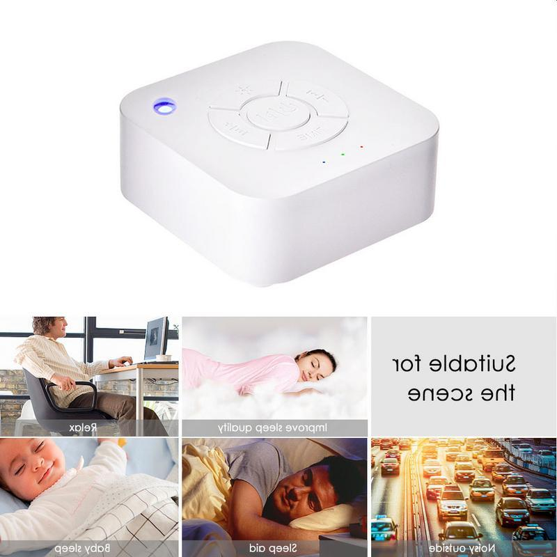 White Noise Rechargeable Shutdown Sound For Relaxation Office