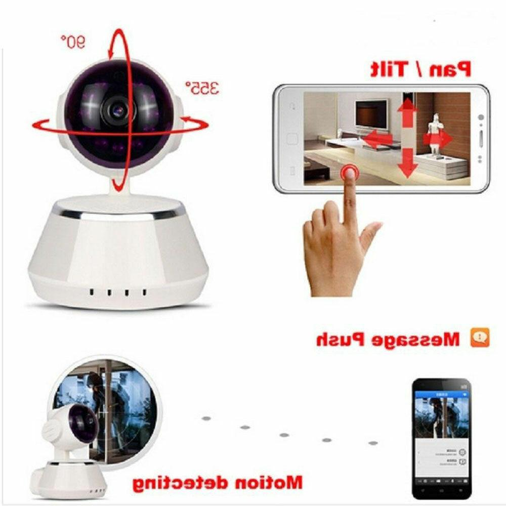 WIFI IP Baby Monitor 720P Security Network Night Vision Webcam