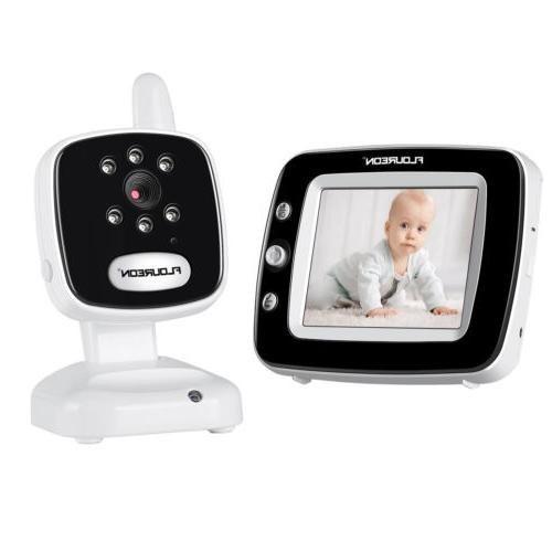 Wireless Baby Monitor LCD Video Security IP Camera Temperature Night Vision Cams