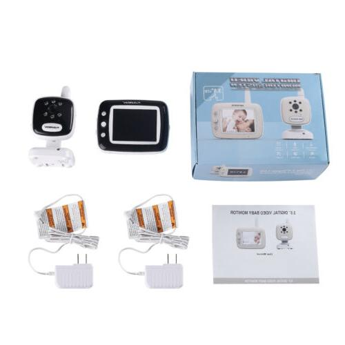 Wireless LCD Video Security Temperature Cams