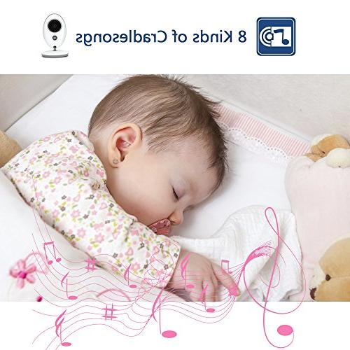 Wireless Baby Monitor with Camera System Monitor for Security