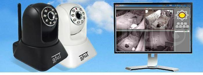 Wireless Baby Monitor Security IP P2P Motion WIfi Vision