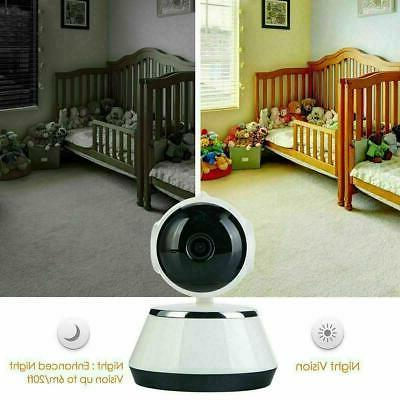 Wireless Pan/Tilt 720P Security Network IP Night Vision WIFI