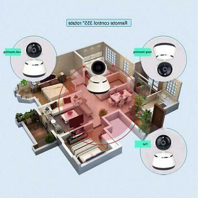 Wireless Pan/Tilt Security Network CCTV Night Vision