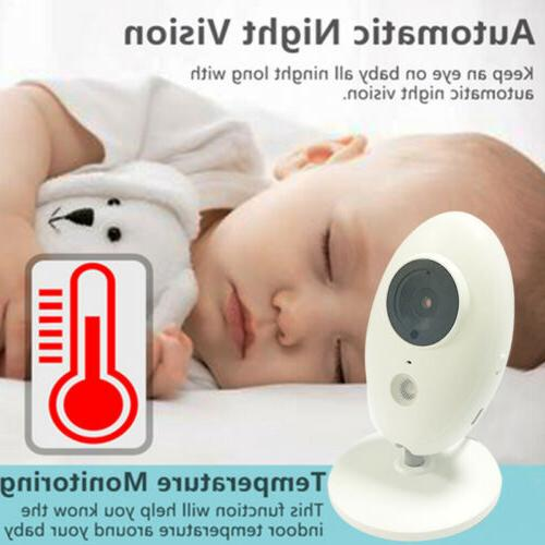 Wireless Video Monitor with 3.2Inches 2 Audio Babysitter