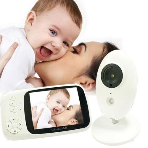 wireless video color baby monitor with 3