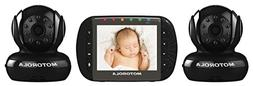 Motorola MBP36-B2 Remote Wireless Indoor Baby Monitor with 2