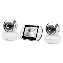 mbp36s 2 video baby monitor with 2