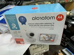 Motorola MBP36XL Portable Video Baby Monitor - White new in