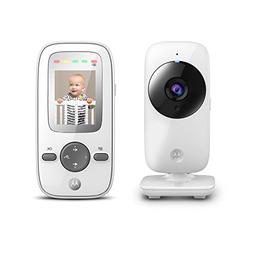 Motorola MBP481 2.4 GHz Digital Video Baby Monitor with 2-In