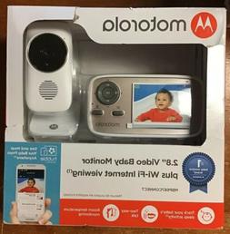 "Motorola MBP667CONNECT 2.8"" Video Baby Monitor with Wi-Fi Vi"