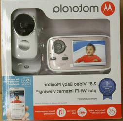 "Motorola MBP667CONNECT 2.8"" Video Baby Monitor w/ Wi-Fi View"