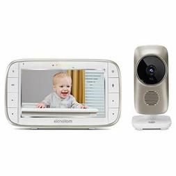 """Motorola MBP845CONNECT 5"""" Video Baby Monitor with Wi-Fi View"""