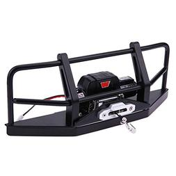 Iainstars Metal Front Bumper+Remote Control+Winch Kit Model