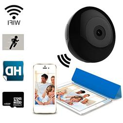 Zenmach Mini Wifi Camera, Nanny Cam, Wireless Security IP Ca