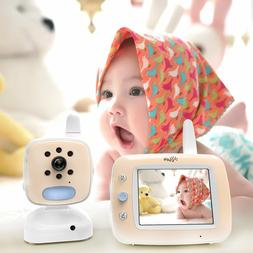 "ISEE Video Baby Monitor Cameras - 3.5"" Large LCD Screen with"
