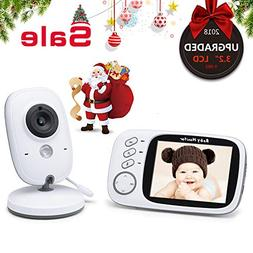 Baby Monitor with Camera Without Radiation- Night Vision int