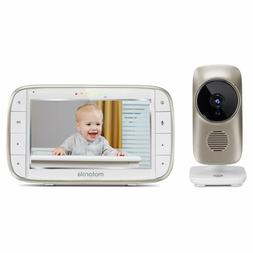 motorola mbp845connect 5 video baby monitor