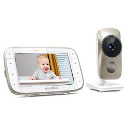 motorola mbp845connect video baby monitor with wi