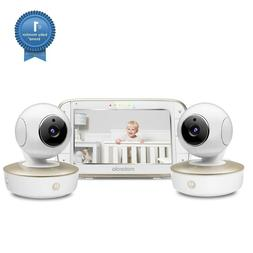 Motorola Video Baby Monitor - 2 Wide Angle HD Cameras with I