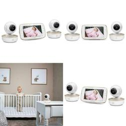 "NEW - Motorola MBP50-G2 5"" Video Baby Monitor with Two Camer"