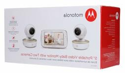NEW ,Motorola MBP50-G2 Digital Video Baby Monitor with 5-inc