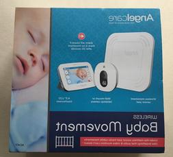 """New Angelcare Wireless Baby Movement W/ 4.3"""" LCD Touchscre"""