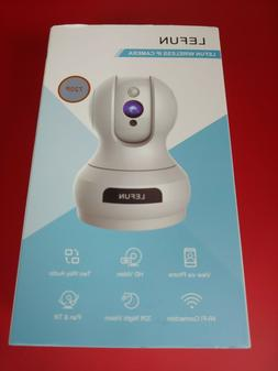 NEW LeFun Wireless IP Security Camera WiFi Surveillance Pet/