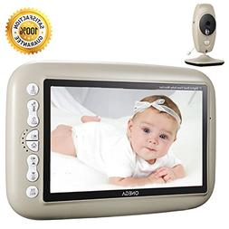 "ONEGA Baby Monitor Wireless Video with 7.0"" Large LCD Screen"
