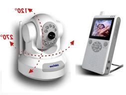 """4UCAM PAN / TILT Handheld 2.5"""" Color Video Baby Monitor and"""