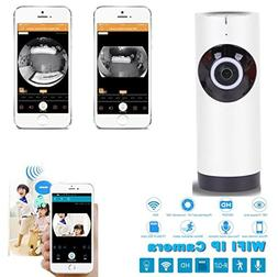 panoramic view home security wifi