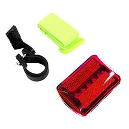 Personal Red Flashing Safety Light with Belt Clip  - up to 1