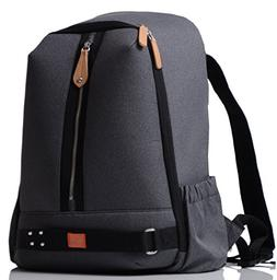 PacaPod Picos Pack Black Charcoal Designer Baby Changing Bag