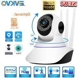 PTZ 1080P HD IP Camera WiFi Home Security CCTV Video Pan/Til