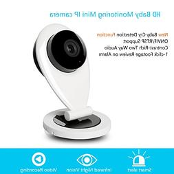 UnionCam Q2 Pro HD Wireless Security Camera, WiFi Baby Moni