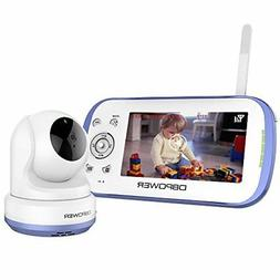 DBPOWER Digital Video Recorder Baby Monitor System w 4.3-Inc
